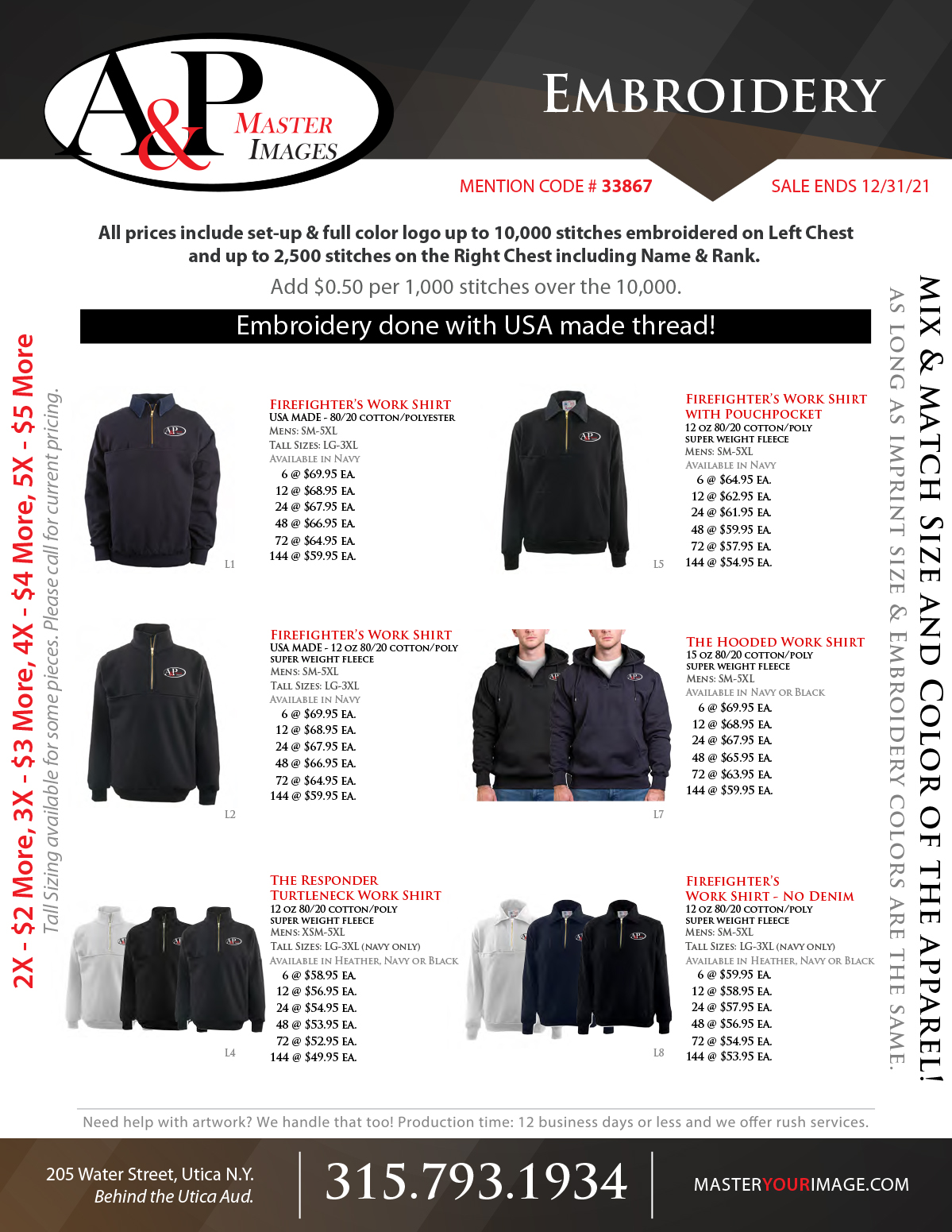 Sales Flyers - Embroidery 10