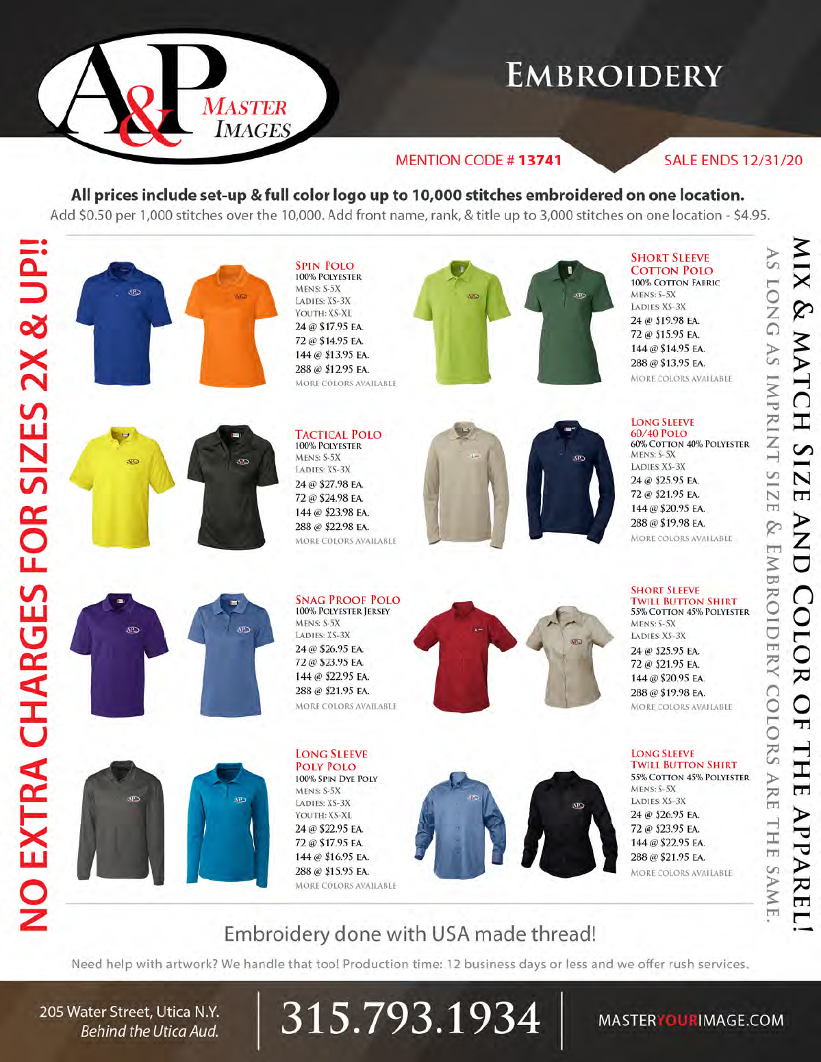 Sales Flyers - Embroidery 02