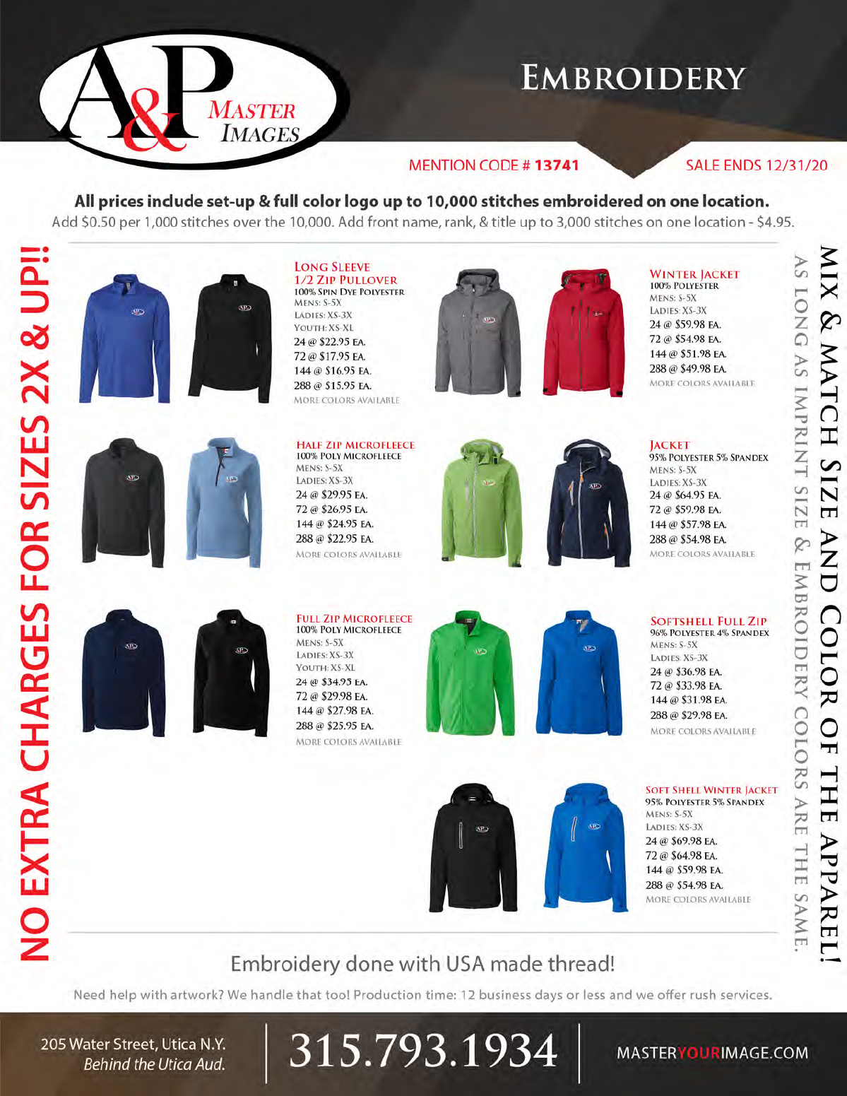 Sales Flyers - Embroidery 04