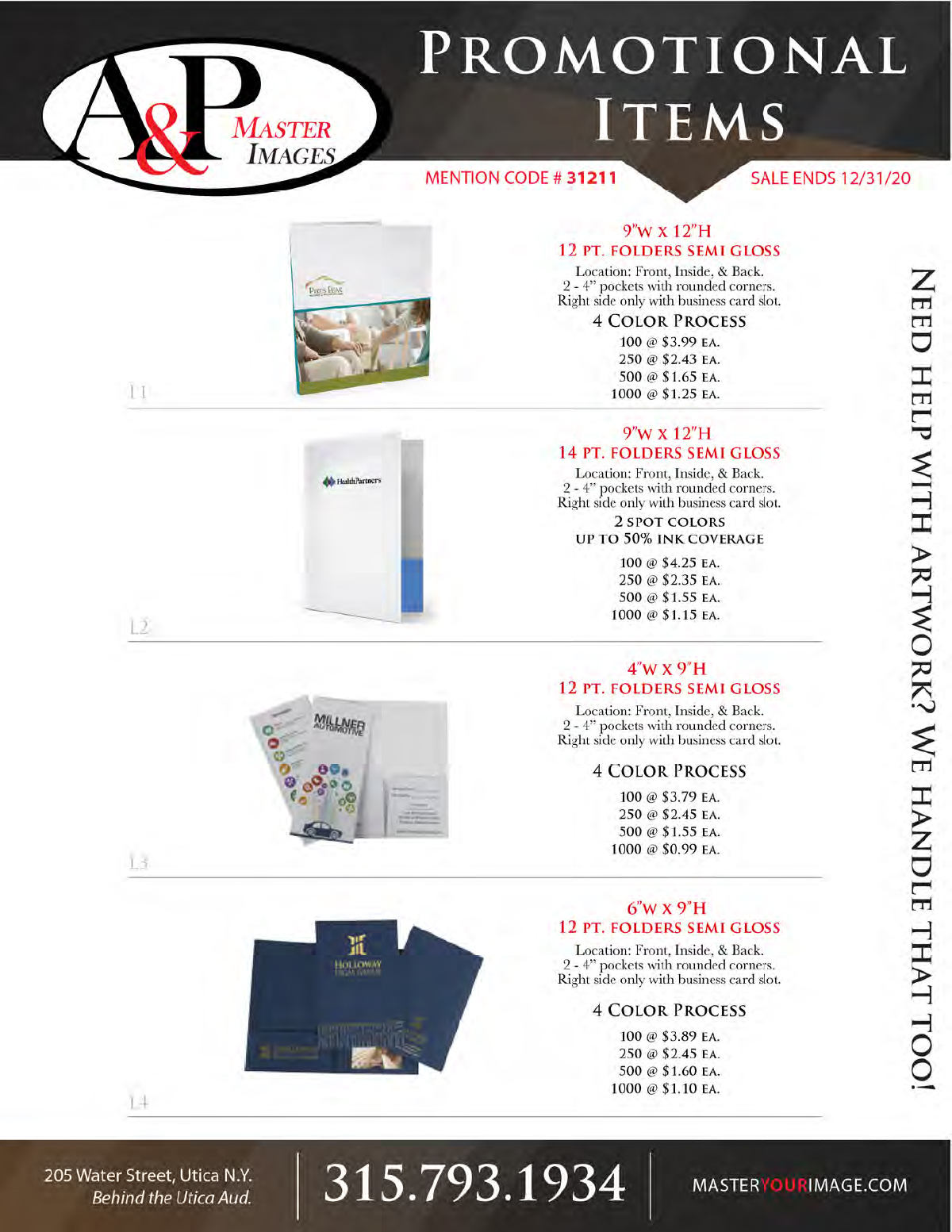 Sales Flyers - Promotional 10