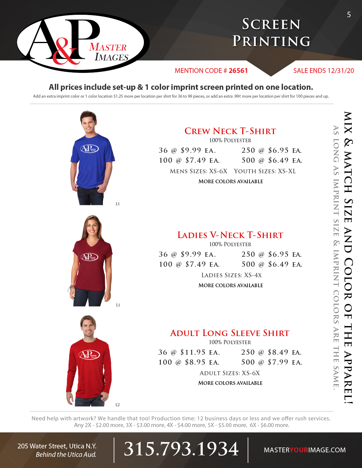 Sales Flyers - Screen Printing 05