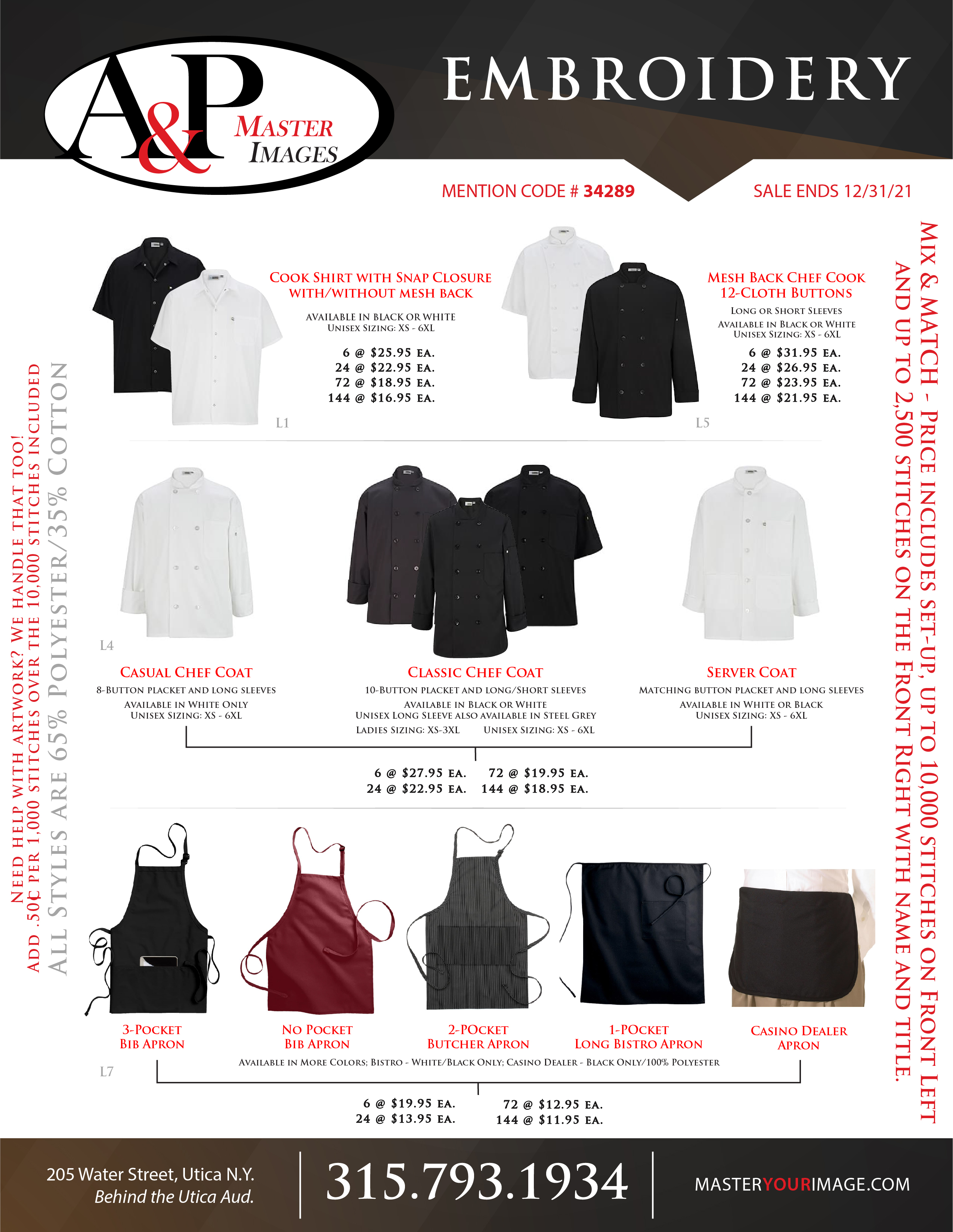 Sales Flyers - Embroidery - 12
